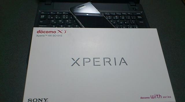 Sony新商品!『Xperia AX SO-01E』を買ってやったぜぃ!!