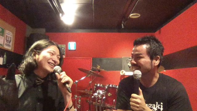 jMatsuzakiのBurning!放送局vol.8「1stアルバム「EatShit」リリース!」を放送