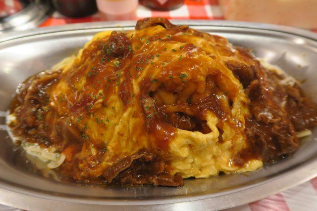 パンチョ大宮店の限定メニュー「チーズオムナポリタン」を食べてきた