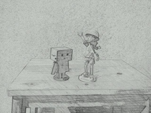 撮った写真が漫画化する。「Paper Camera」が楽しい!