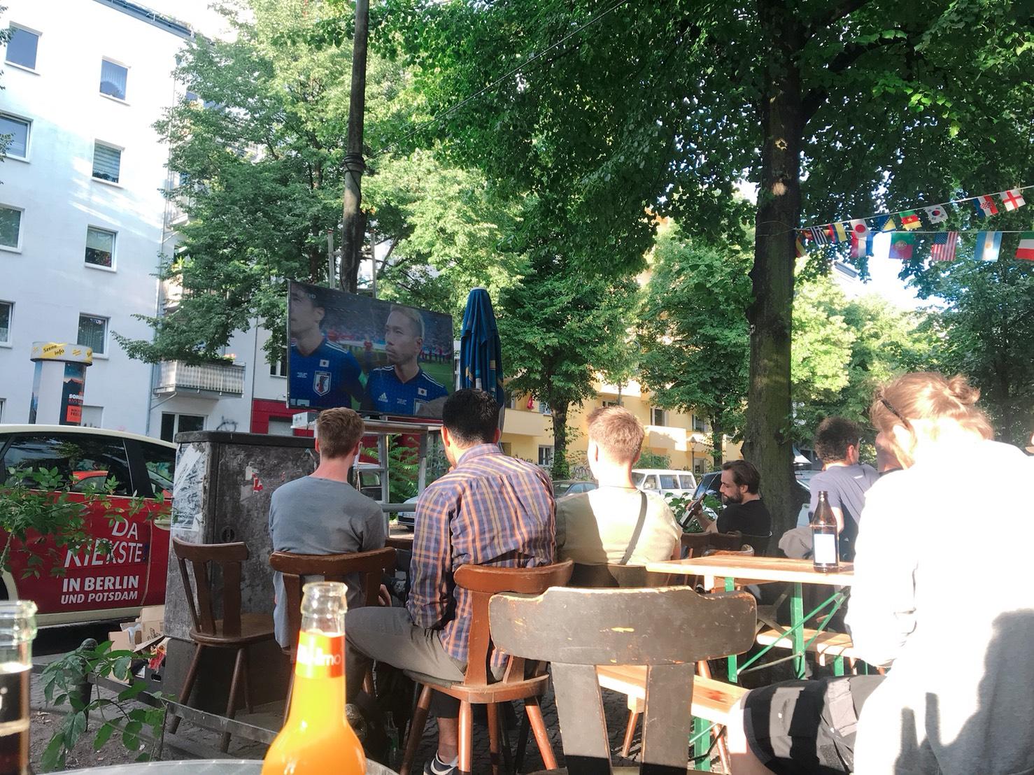 ベルリンで見るワールドカップが思った以上に楽しい