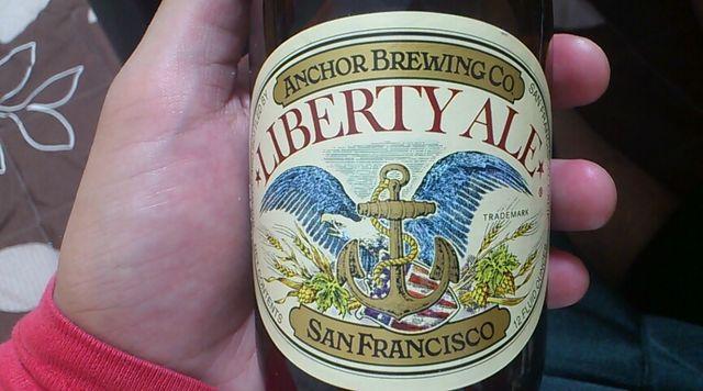 【麦酒評価】第1弾アンカー・リバティーエールを飲む!
