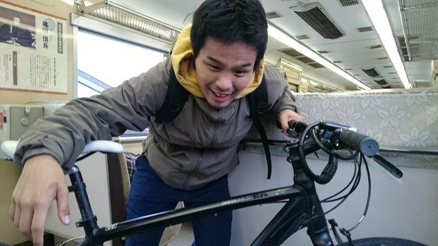 近江鉄道のサイクルトレインを利用すれば自転車持って電車に乗れます