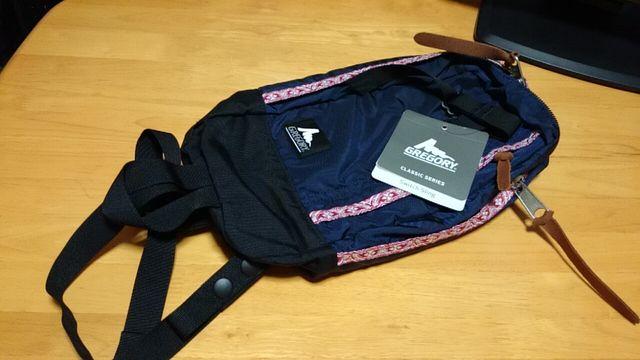 GREGORYのスウィッチスリングは荷物少ないなら超便利なバッグ!