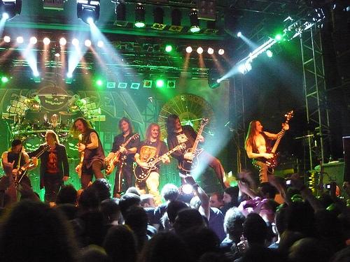 6/5(水)東京 ZEPP TOKYOのHELLISH ROCK PARTⅡ(Helloween&Gamma Ray)見に行きます!!