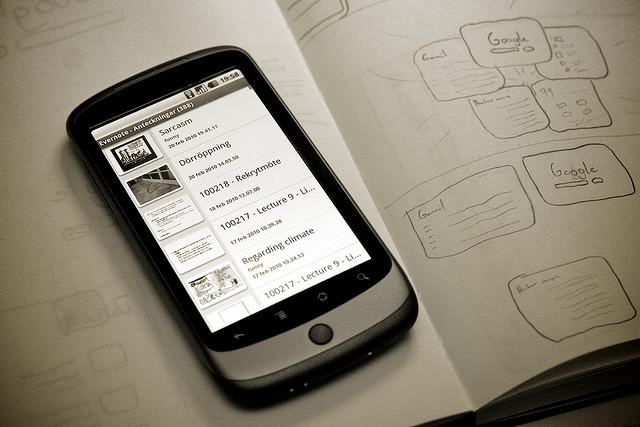 【GTD】【Android】~Evernote Widgetを設定していつでもinboxノートを参照編集できる様にしておく