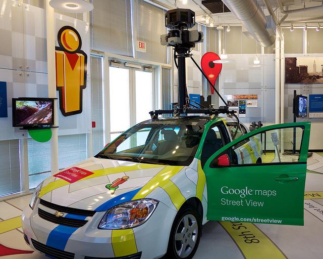 Googleマップのストリートビューをそのままブログに表示する方法
